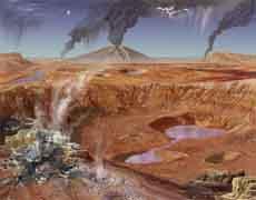 Водное прошлое красной планеты