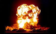 В древности была ядерная война между землянами и инопланетянами?